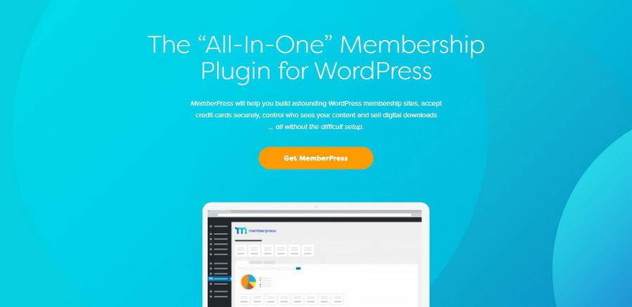 WordPress üyelik sistemi eklentisi olan MemberPress.