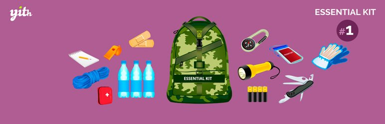 WooCommerce için YITH Essential Kit.