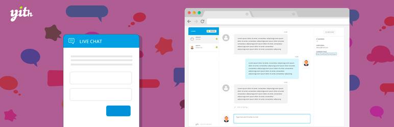 YITH WooCommerce Live Chat eklentisi.