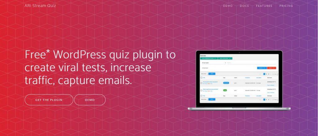 Ari Stream WordPress Quiz Eklentisi