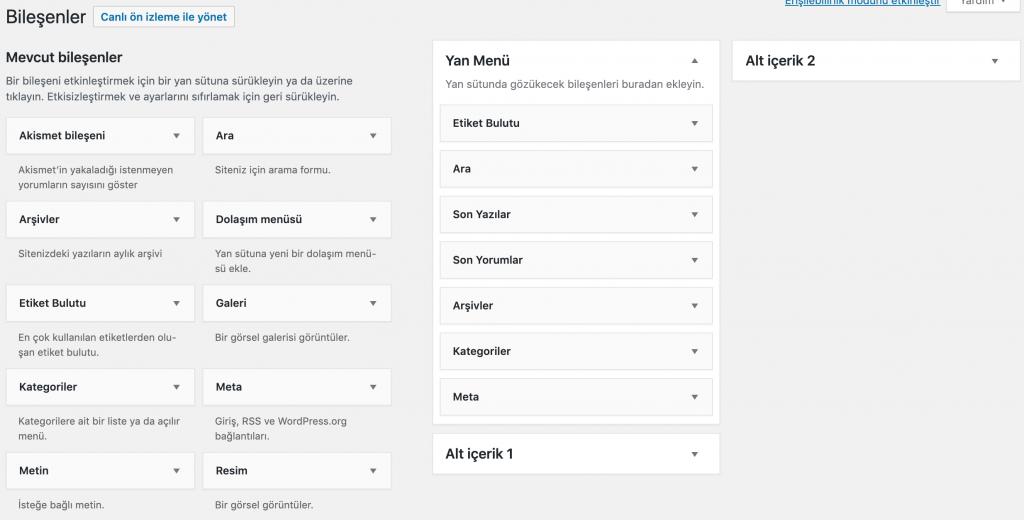 Etiket Bulutu Bileşeninde WordPress Etiketlerini Gösterme