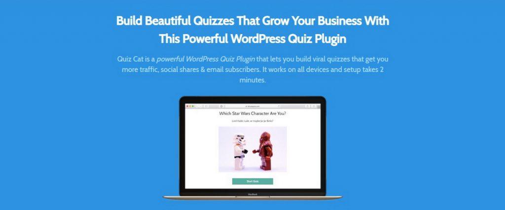 Quiz Cat WordPress Quiz Eklentisi
