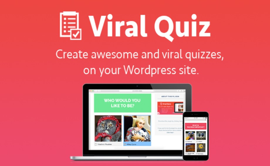 Viral Quiz WordPress Eklentisi