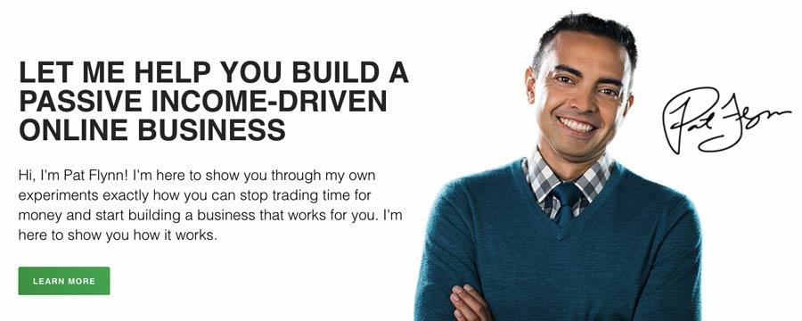Affiliate Marketing web sitesi örneği - Smart Passive Income