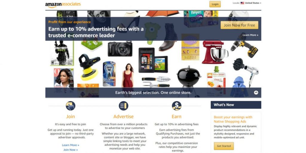 Blog yazarak para kazanmak seçeneklerinden biri olan Amazon Affiliate