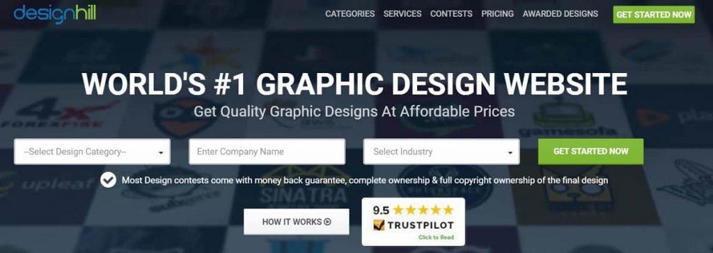 Designhill tasarımcılar için iş platformu