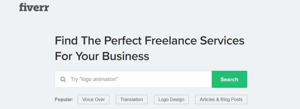 Fiverr Freelance Fırsatı
