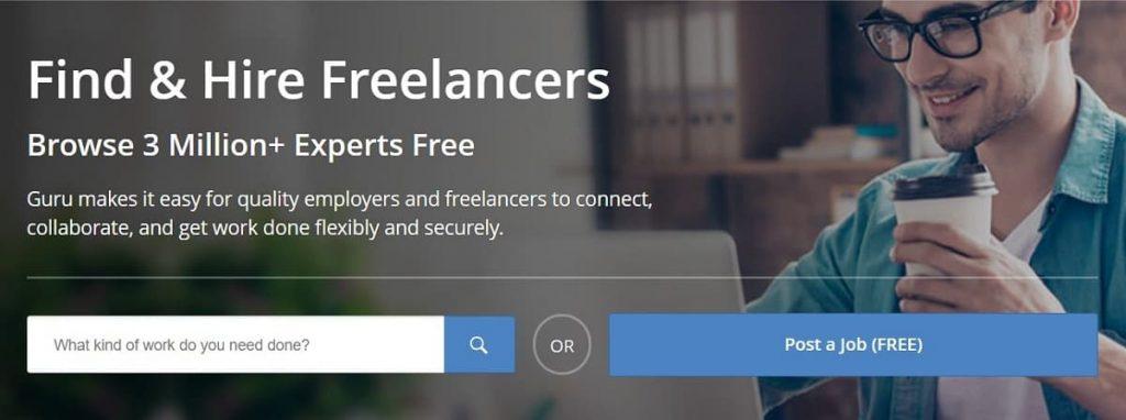 Freelancer Siteleri: Guru