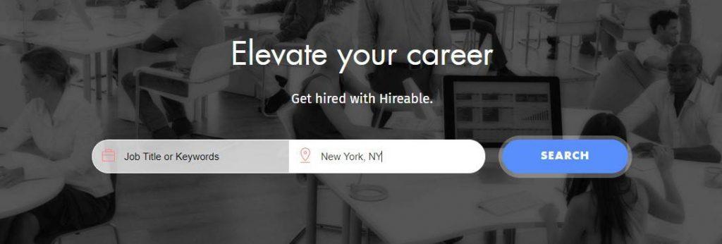 Hireable yakında iş arama