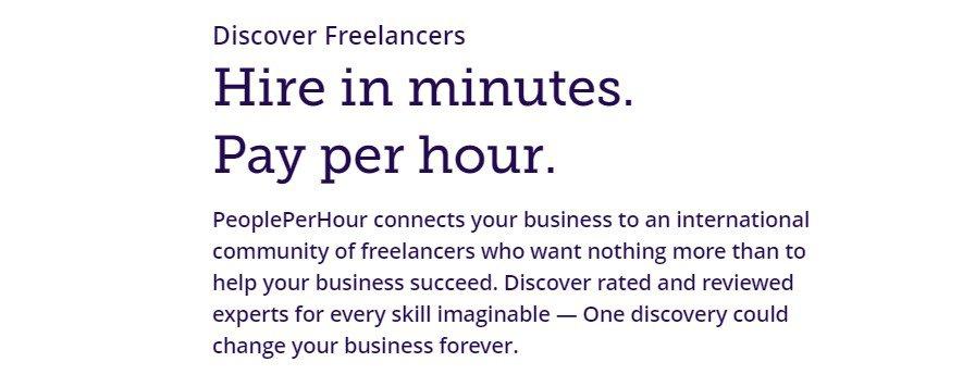 Freelancer Siteleri: PeoplePerHour Açıklaması