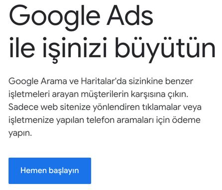 Google Ads ile dropshipping işletmenizi pazarlayın