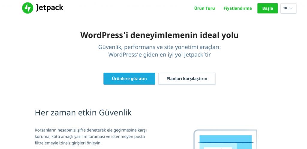 Jetpack WordPress yorum eklentisi