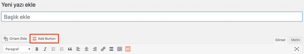 MaxButtons kullanarak WordPress'e buton ekleme
