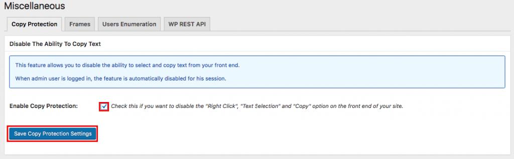 Bir WordPress eklentisi kullanarak sağ tıklamayı devre dışı bırakma
