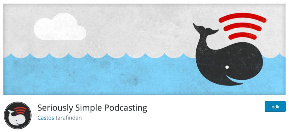 Seriously Simple Podcasting WordPress müzik ekleme eklentisi