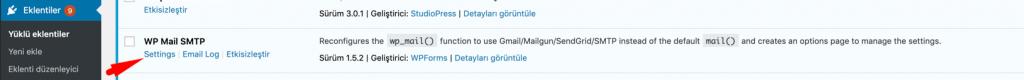 WP Mail SMTP eklenti kurulumu
