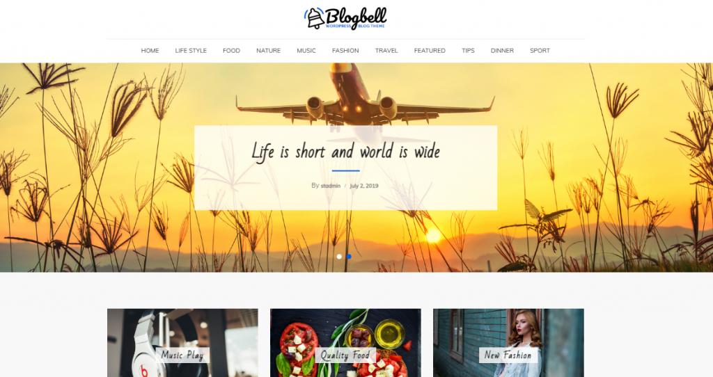 BlogBell Wp Temaları