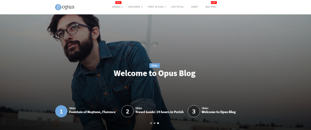 Opus Blog