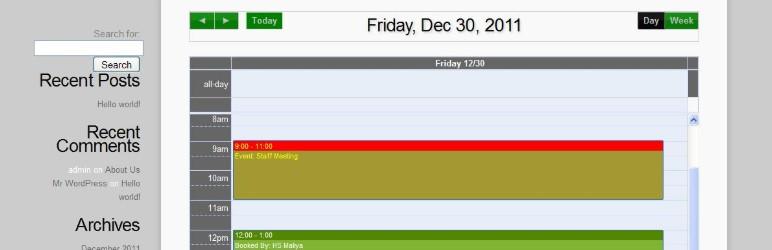 Appointment Calendar WordPress rezervasyon eklentisi