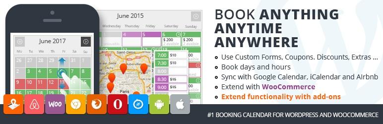 Pinpoint Booking System WordPress rezervasyon eklentisi