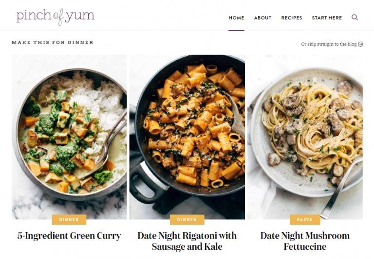 yemek blogu örneği