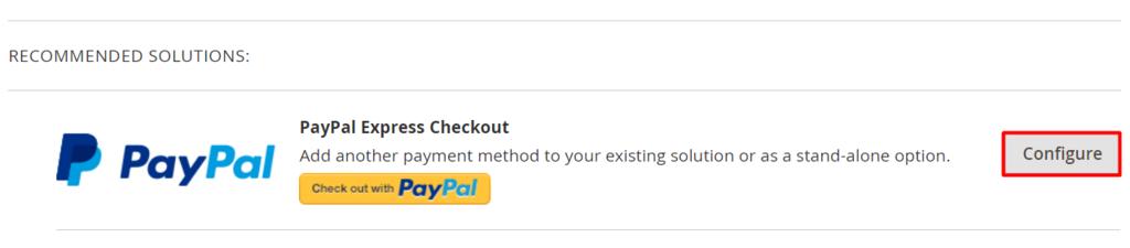 Magento'da PayPal yapılandırması