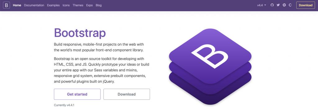 Bootstrap nedir? Bootstrap ana sayfası