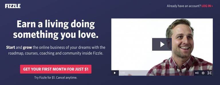 Fizzle ana sayfası online kurslar