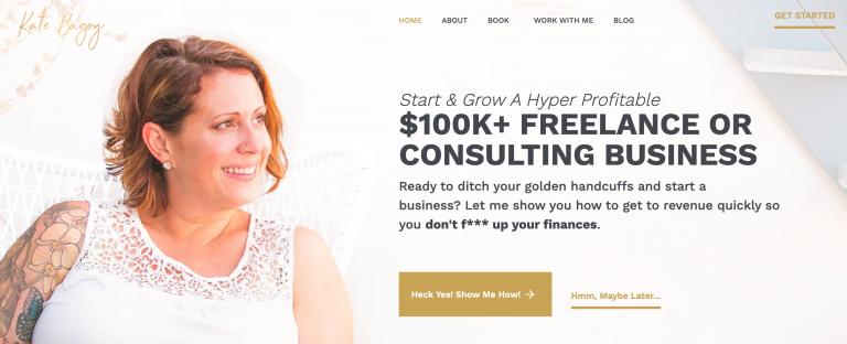 Kate Bagoy online işletme danışmanlığı