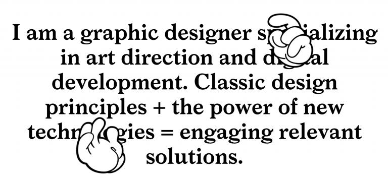 Rafael Krouri grafik tasarım sitesi