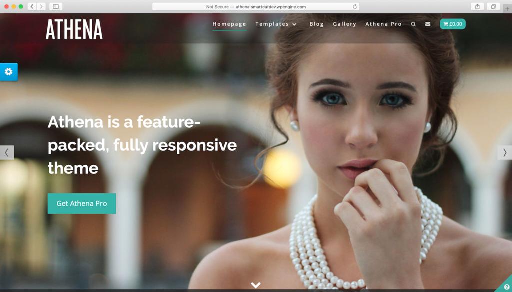 Athena WordPress teması