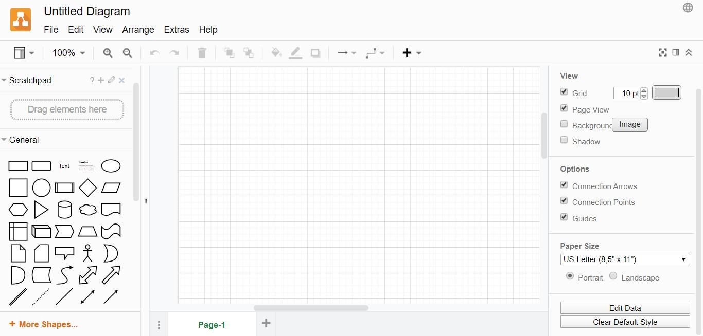 Draw.io proje takip programı