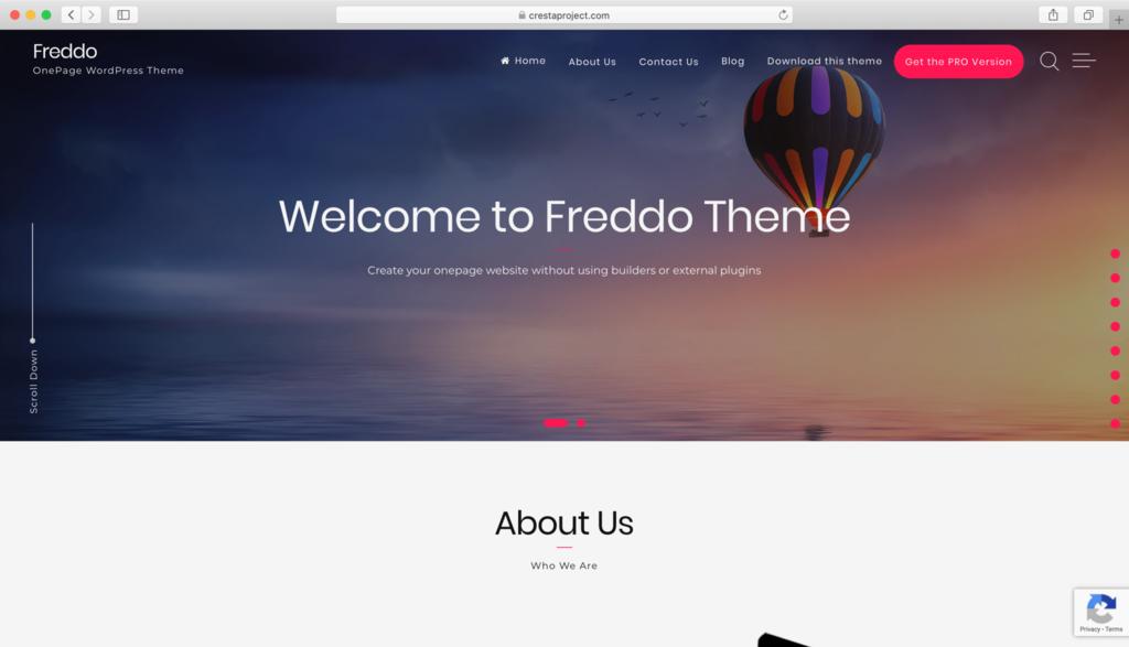WordPress Freddo Teması