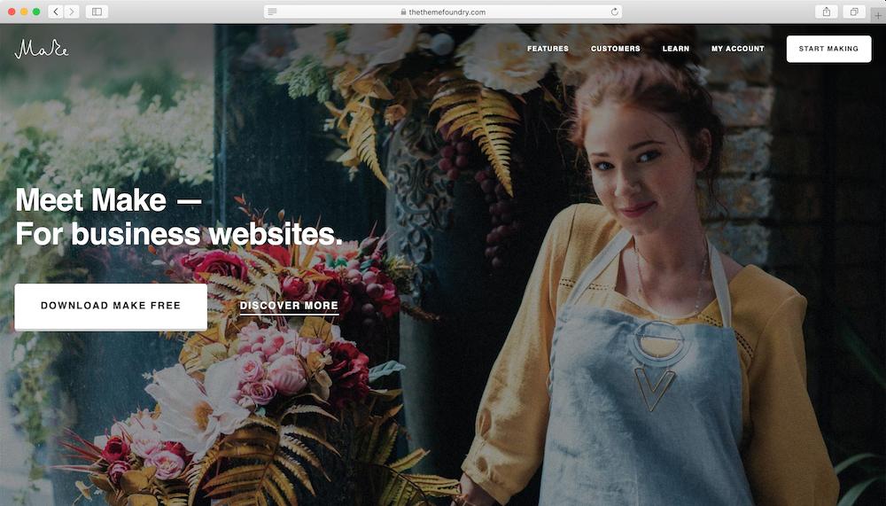 Make WordPress teması
