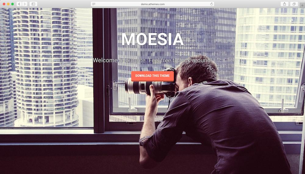 Moesia WordPress teması