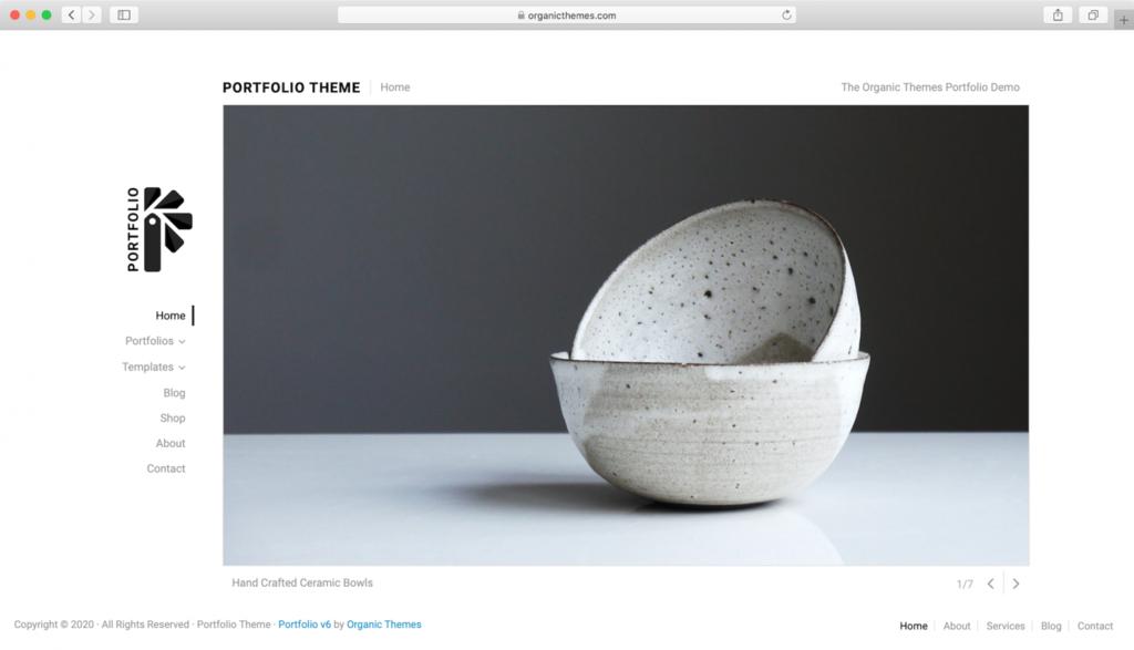 Portfolio Lite WordPress Teması