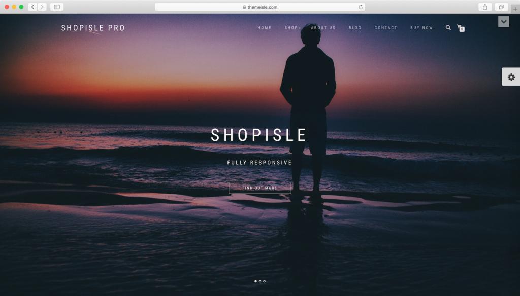 ShopIsle WordPress teması