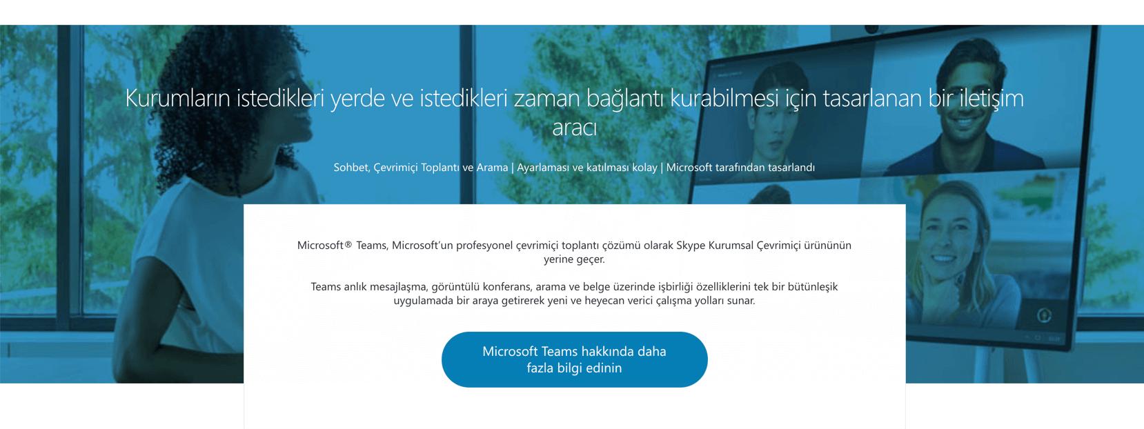 Skype Kurumsal proje yönetimi yazılımı