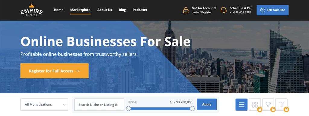 web siteleri satarak internetten para kazanma