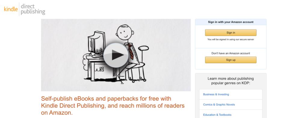 kindle kitapları yayınlayarak internetten para kazanma