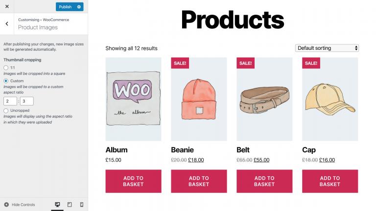 Online Butik için ürün görsellerini düzenleme