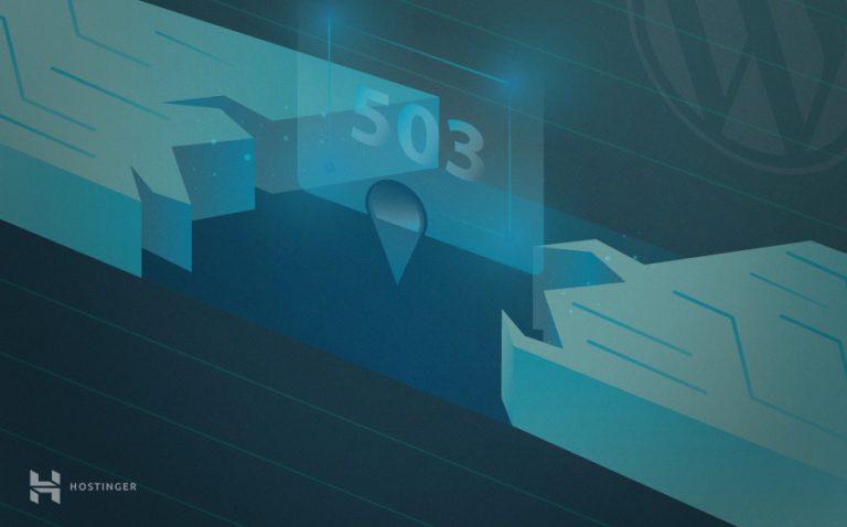 WordPress 503 Service Unavailable Hatası Nasıl Çözülür?