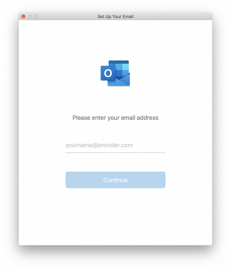 Outlook 2019 giriş ekranında elle hesap yapılandırması seçmek