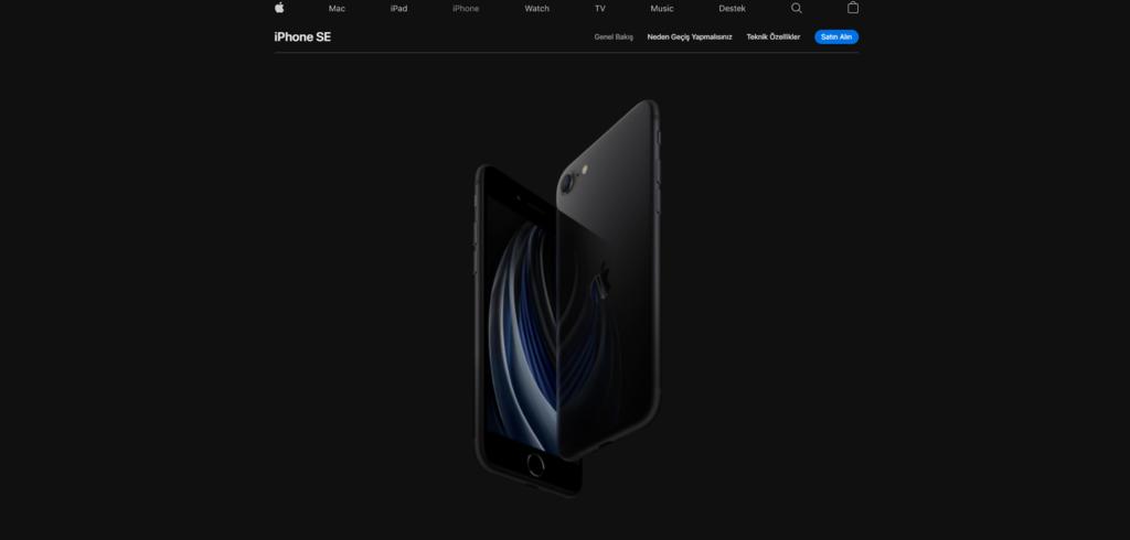 Apple.com.tr e-ticaret siteleri