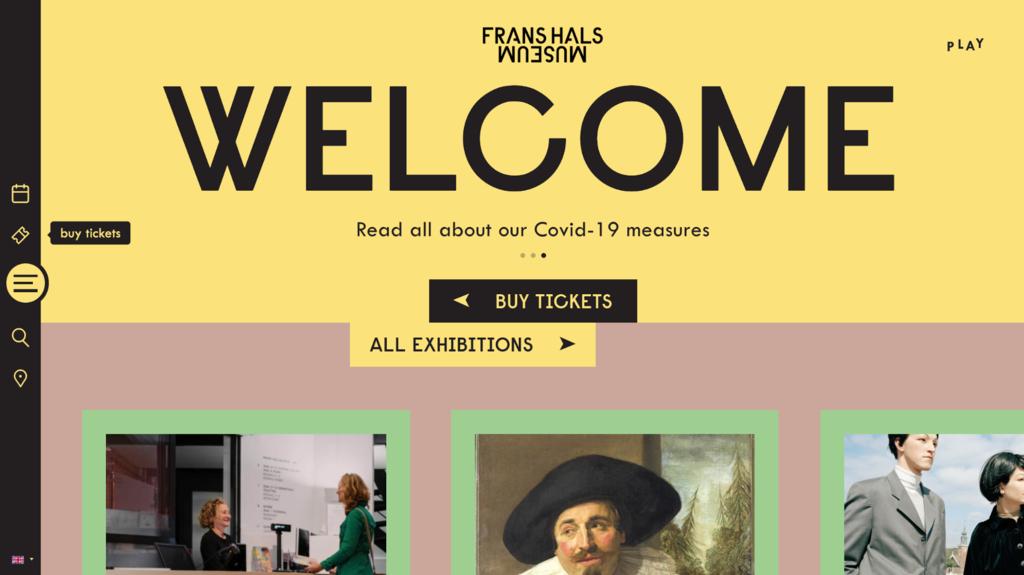 Frans Hals Müzesi, e-ticaret sitesi örneği