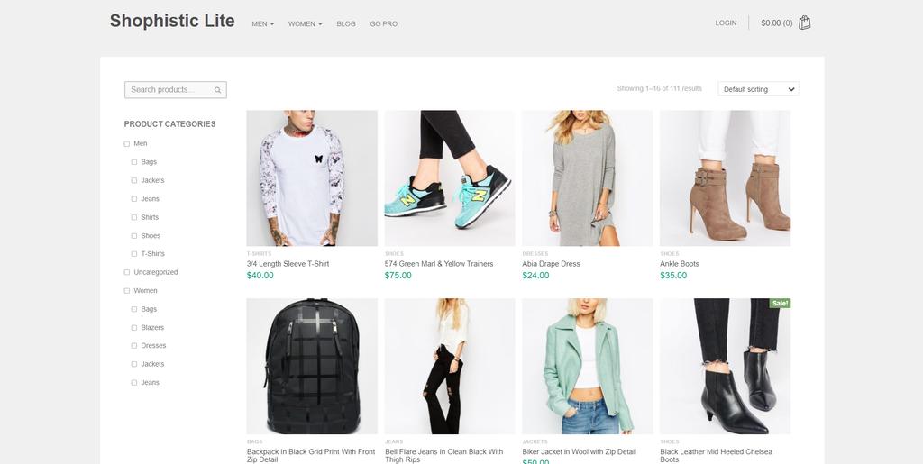 Shophistic Lite WP WooCommerce Tema